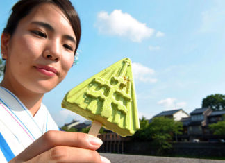 popsicle that dont melt, popsicles that don't melt exist in Japan, popsicles that don't melt exist in Japan video,