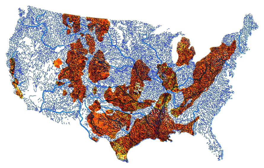 What The Frack These Maps Show Where You Shouldnt Drink Tap - Map of fracking in us