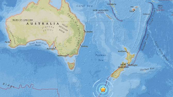 The Ring of Fire is heating up: M6 1 earthquake strikes off New
