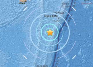 M6.4 earthquake hit Fiji Islands on September 26 2017, M6.4 earthquake hit Fiji Islands on September 26 2017 map, m6.4 earthquake fiji sept 26 2017