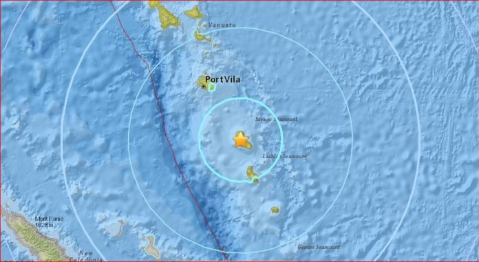 M6.4 earthquake vanuatu september 20 2017, M6.4 earthquake hit Vanuatu on September 20 2017