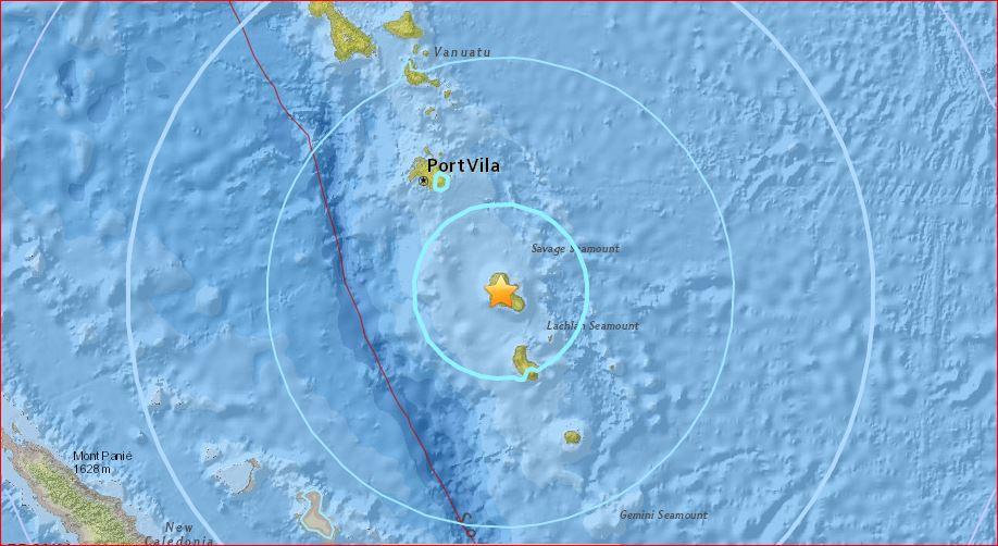 M6.4 earthquake vanuatu september 20 2017, M6.4 earthquake hit Vanuatu on September 20 2017