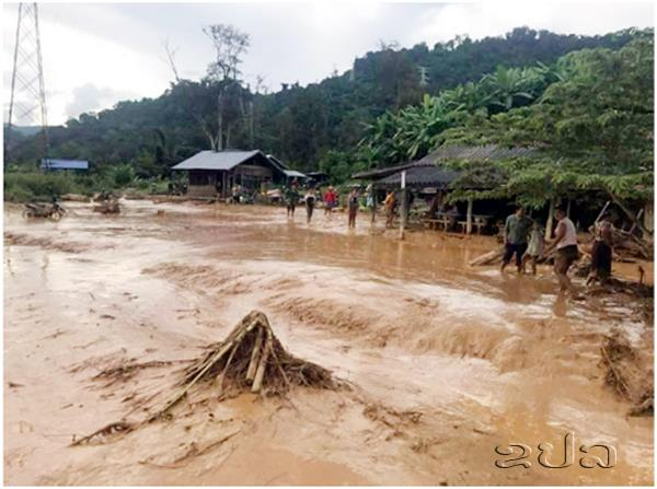 Terrifying video shows floodwaters after dam collapse in Laos, dam collapse laos video, video flooding laos, flodding laos apocalypse dam collase video