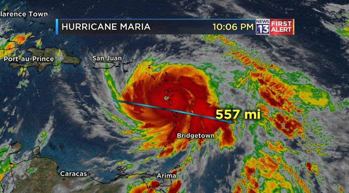 hurricane maria dominica, hurricane maria, hurricane maria puerto rico
