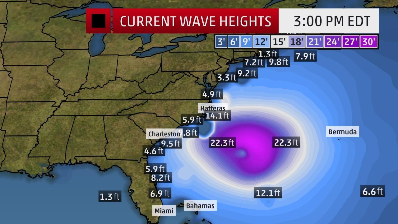 Hurricane maria north Carolina, Hurricane maria north Carolina video, Hurricane maria north Carolina pictures september 25 2017, Tropical storm wrning issued for North Carolina before Hurricane Maria, Storm Surge watch for north Carolina prior Hurricane Maria