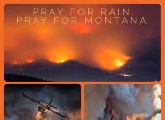 Montana fires