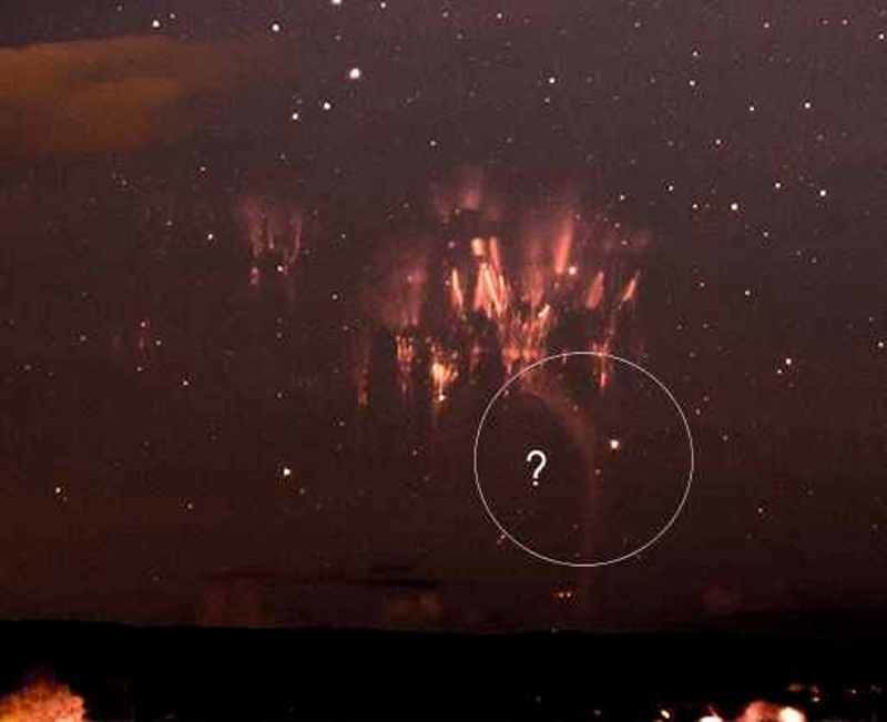 new type of sprite, mysterious sky phenomenon, mysterious sky phenomena