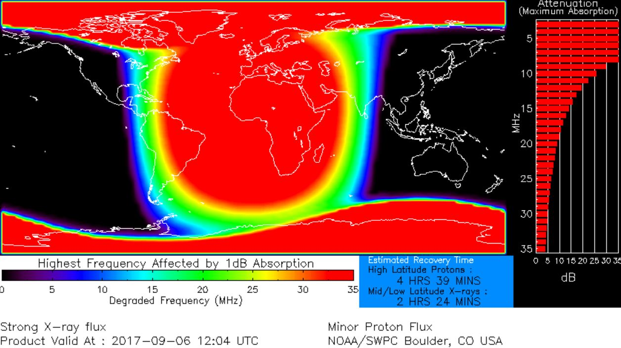 MAJOR X-CLASS SOLAR FLARE, strongest solar flare in more than a decade, sunspot AR2673 unleashed a major X9.3-class solar flare, sunspot AR2673 unleashed a major X9.3-class solar flare september 6 2017