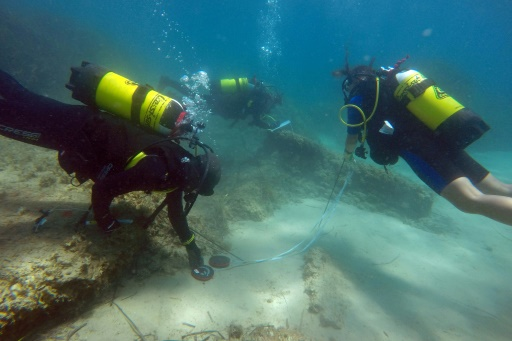 Neapolis, Neapolis discovery, Roman underwater ruins discovered in Tunisia, Neapolis discovery tunisia, tsunami sunk roman ruins tunisia, archaeologists diving in Tunisia waters at the site of the ancient Roman city of Neapolis