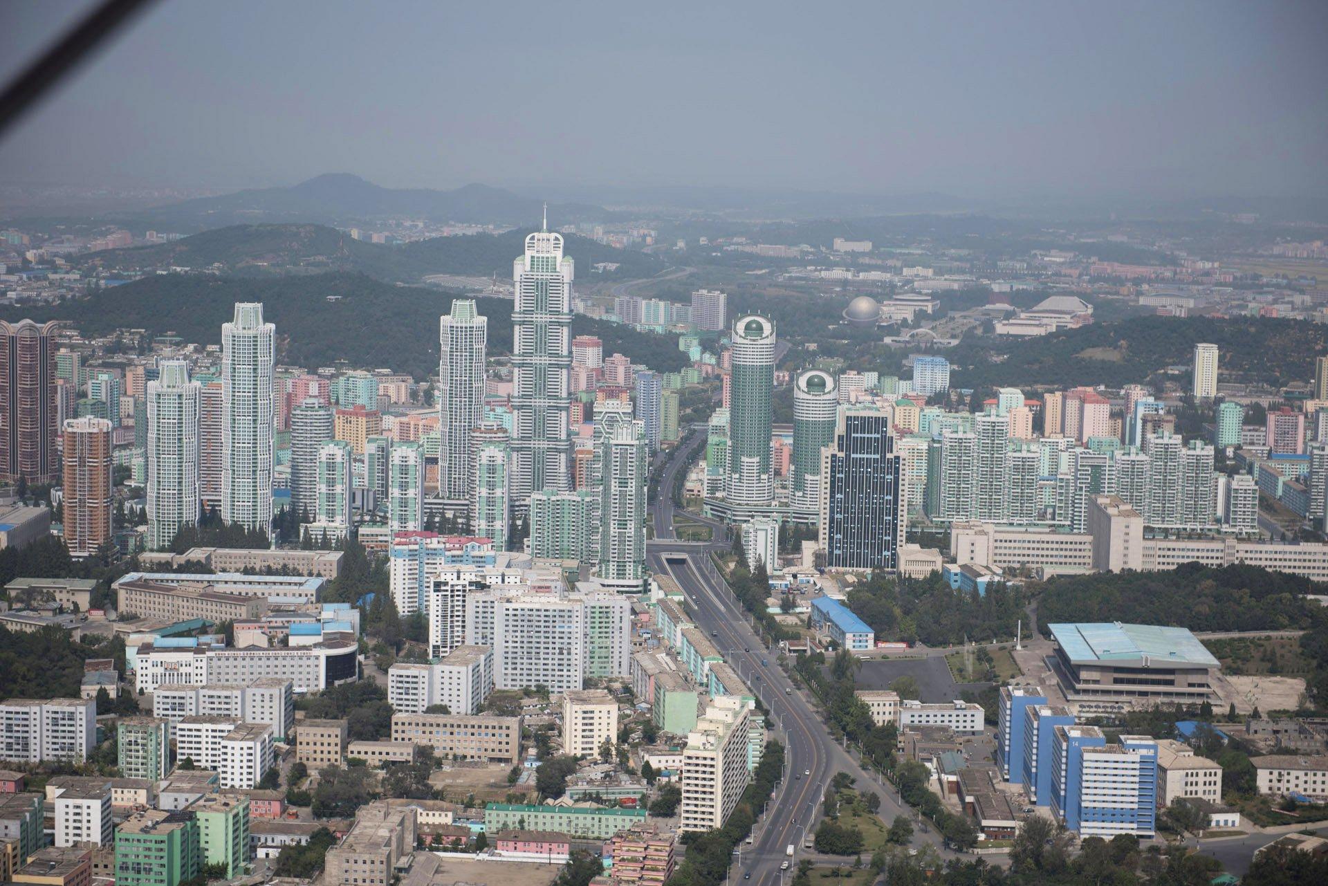 360 aerial video of Pyongyang North Korea, 360 aerial video of Pyongyang North Korea pictures, 360 aerial video of Pyongyang North Korea video pictures