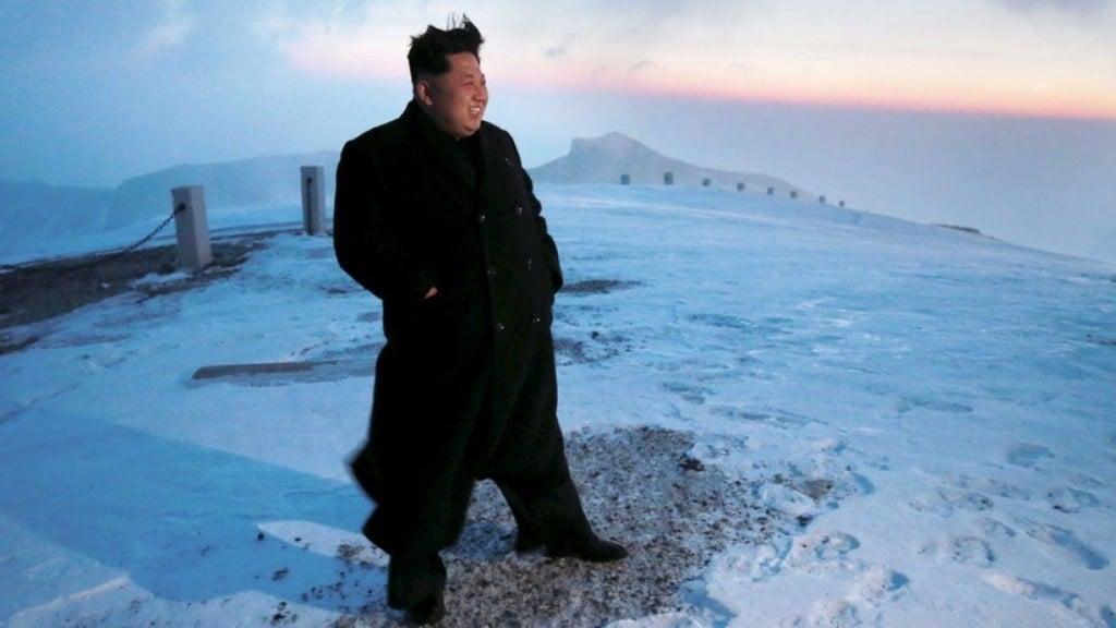 Baekdu eruption, Baekdu eruption atomic tests, Kim Jong-Un Baekdu