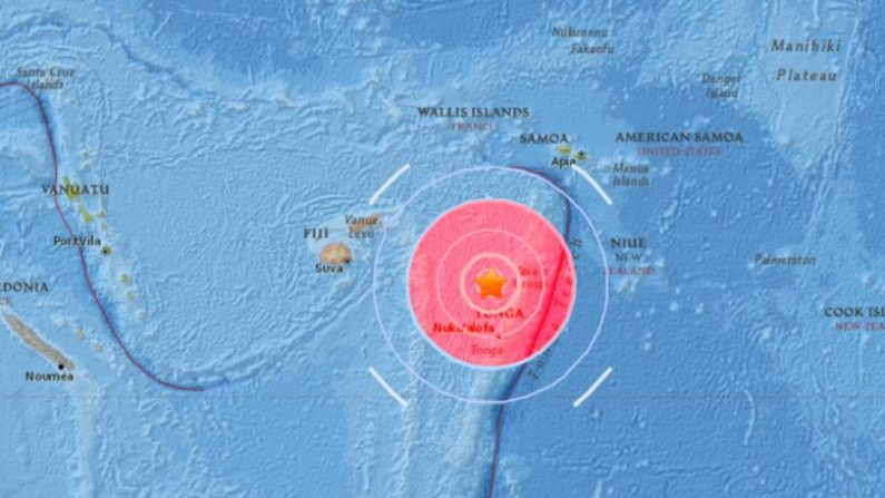 M6.1 earthquake strikes off tonga on October 8 2017, M6.1 earthquake strikes off tonga on October 8 2017 pictures, M6.1 earthquake strikes off tonga on October 8 2017 video, M6.1 earthquake strikes off tonga on October 8 2017 map