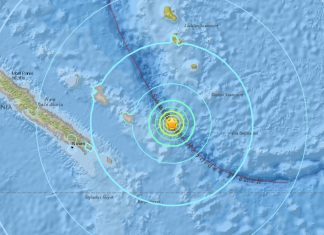 M6.8 earthquake hits New Caledonia on October 31 2017, M6.8 earthquake hits New Caledonia on October 31 2017 map, M6.8 earthquake hits New Caledonia on October 31 2017 video