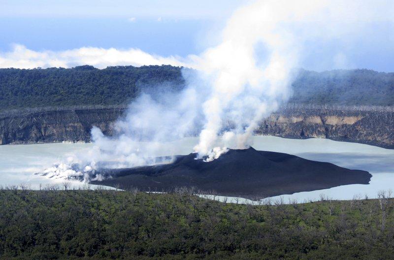 Manaro volcano in Vanuatu, ambae volcano vanuatu