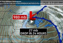 Bombogenesis storm hits Marquette in Michigan along Lake Superior, Bombogenesis storm hits Marquette in Michigan along Lake Superior pictures, Bombogenesis storm hits Marquette in Michigan along Lake Superior video, hurricane storm lake superior, hurricane marquette lake superior, Bombogenesis storm hits Marquette in Michigan along Lake Superior on October 24 2017