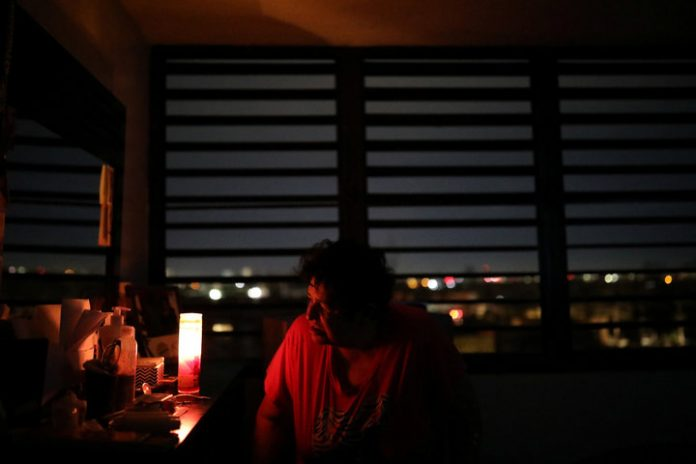 puerto rico power outage, Only 17% of Puerto Rico has electricity one month after Hurricane Irma