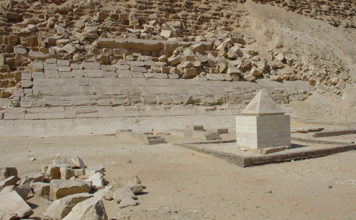golden tip pyramid found, ancient egypt pyramidion found in egypt, golden tip pyramid egypt