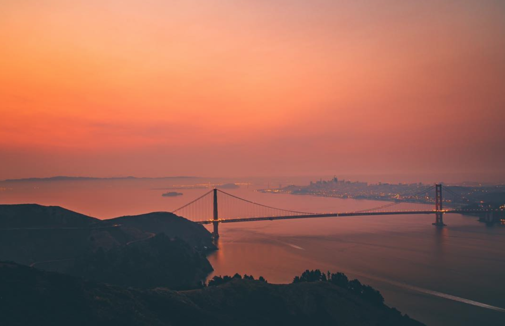 As the North Bay wildfires burned, the skies around the Bay Area were marked by tragically striking sunsets and dramatic orange skies.