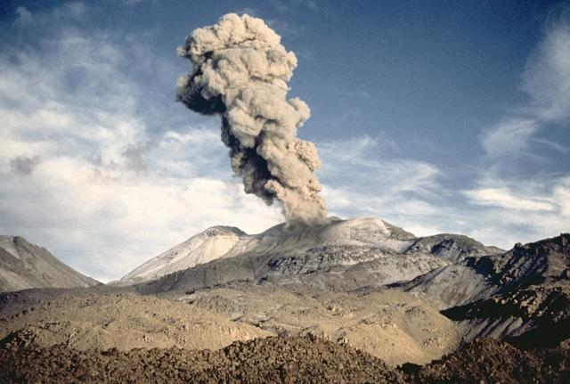 45 eruptions per day at Sabancaya volcano in Peru, 45 eruptions per day at Sabancaya volcano in Peru video