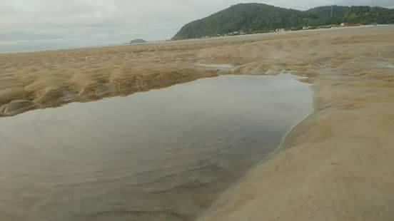mare sparisce il Brasile 7 ottobre 2017, il mare scompare Brasile 7 ottobre 2017 foto, il mare scompare Brasile 7 ottobre 2017 video