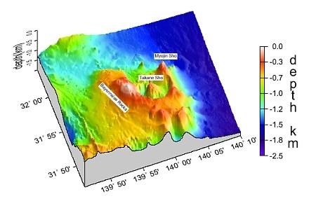 Bayonnaise rocks eruption nov 2017, Underwater eruption of Bayonnaise rocks on Nov 14th 2017