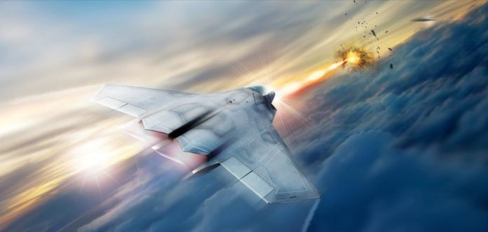 Fighter jets with laser weapons set to take to the skies in 2021