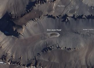 Mysterious salt pond in Antarctica mars, Mysterious salt pond in Antarctica could contain water similar to that found on Mars