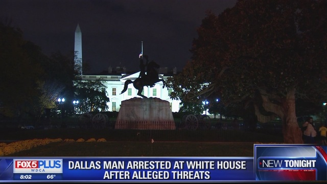 SECRET SERVICE Man traveled to DC to kill 'all white police' at White House