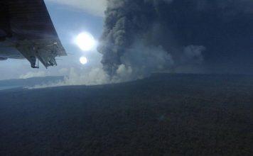 Ambae volcanic eruption November 7 2017