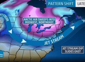 arctic blast usa, arctic blast usa 2017, arctic blast usa november 2017, An arctic blast will sweep across the USA in November 2017