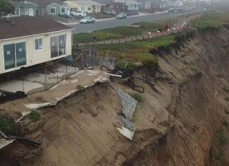 coastal erosion pacifica, coastal erosion pacifica video, coastal erosion pacifica november 2017