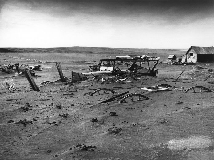 dust bowl, dust bowl, big dry one, apocalyptic drought usa