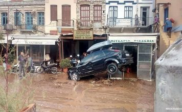 floods symi greece