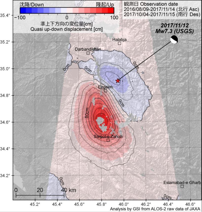 ground rose 90 cm after iran-irak earthquake, ground rose 90 cm after iran-irak earthquake map, ground rose 90 cm after iran-irak earthquake pictures