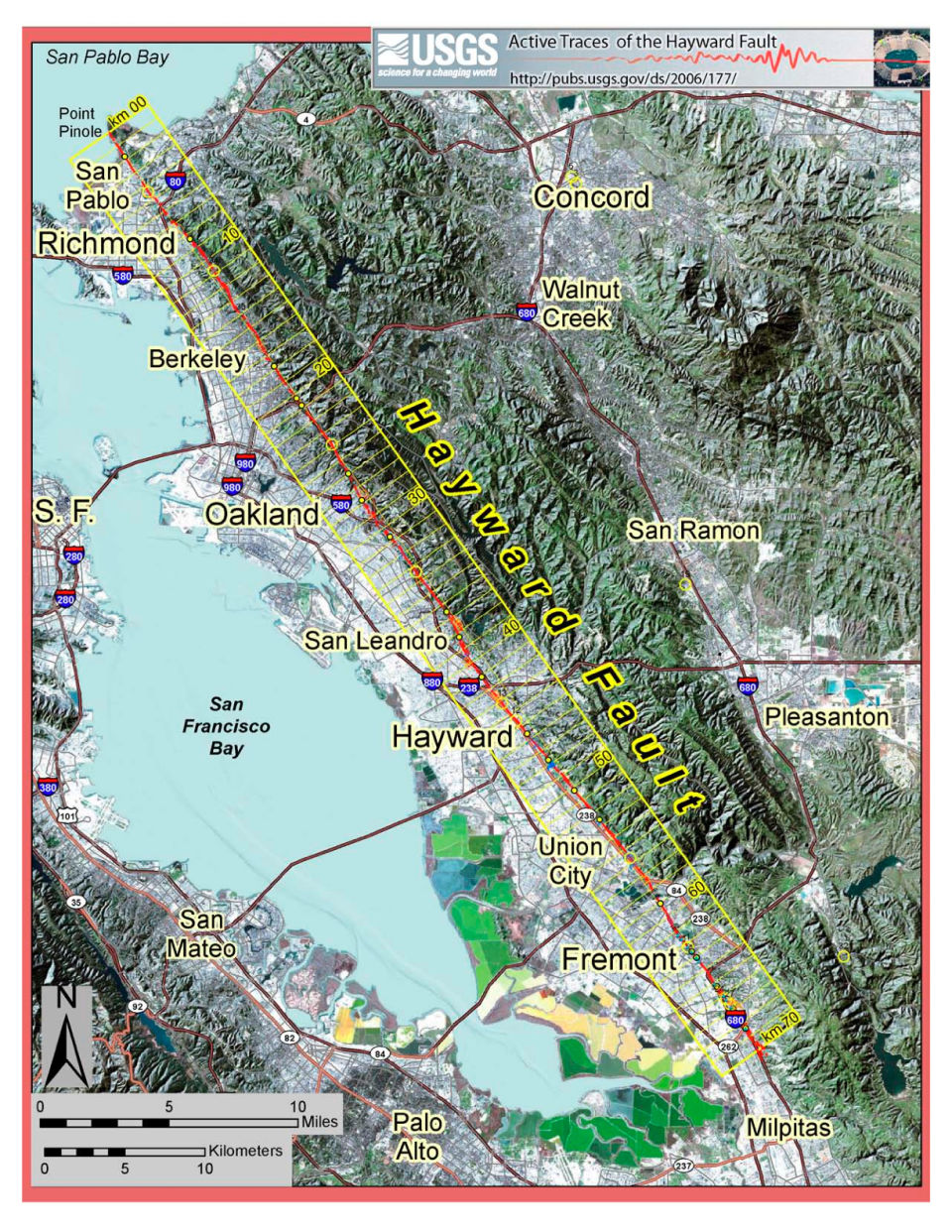 hayward fault, hayward fault san francisco earthquake, next big one san francisco