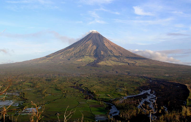 Mayon volcanic and seismic unrest