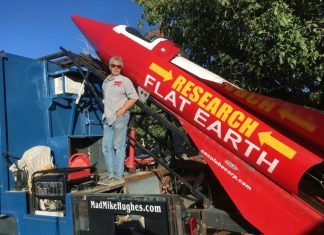 mike hughes flat earth rocket, mike hughes flat earth rocket video, mike hughes flat earth rocket picture