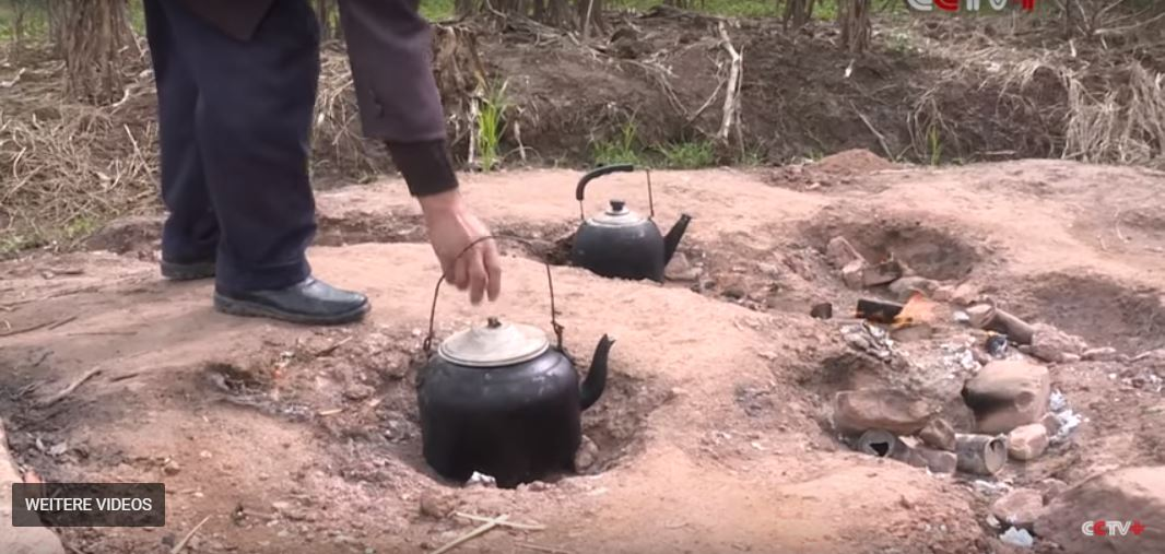 mysterious underground fire in China, mysterious underground fire in China video, mysterious underground fire in China pictures