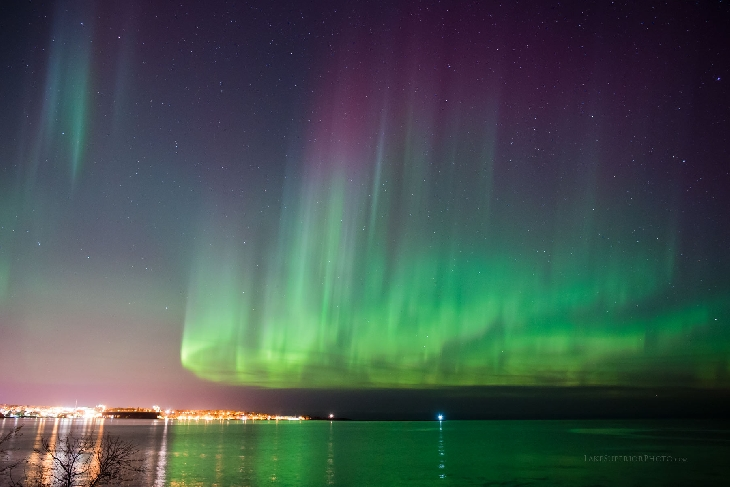 northern lights usa november 7 2017, g2-class solar storm november 7 2017 northern lights usa