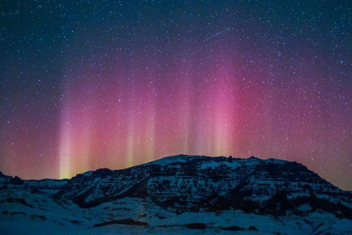 northern lights usa november 7 2017, g2-class solar storm november 7 2017 northern lights usa