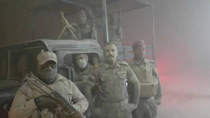 Giant sandstorm engulfs northern Saudi Arabia, Giant sandstorm Irak, Giant sandstorm Syria, Giant sandstorm Jordan
