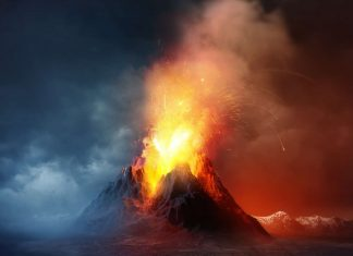 Supervolcano eruptions may be more frequent than previously known, super eruptions more frequent