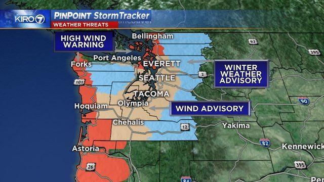 wind storm northwest, wind storm advisory US northwest