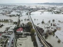 albania floods, albania floods video, albania floods picture, albania floods december 2017