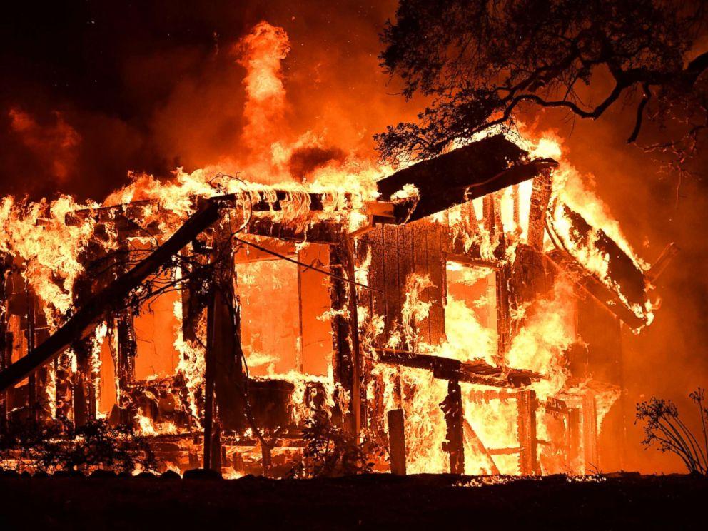 california largest wildfires, california biggest wildfires, 10 most destructive wildfires in California,