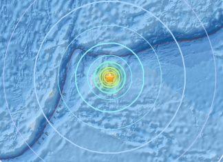 earthquake micronesia dec 8 2017, M6.5 and M6.4 earthquake micronesia dec 8 2017