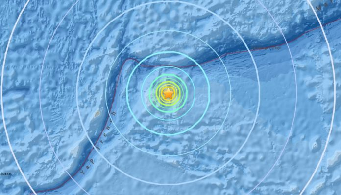 earthquake micronesia dec 8 2017, M6.5 and M6.4 earthquake micronesia dec 8 2017