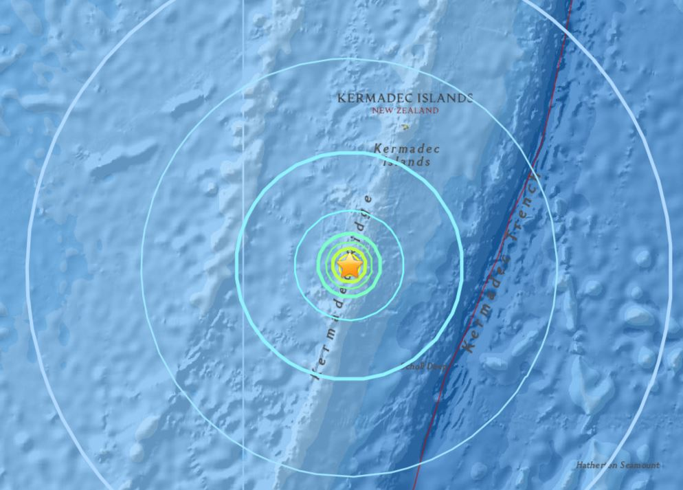 M6.2 earthquake hits New Zealand on Dec. 8 2017