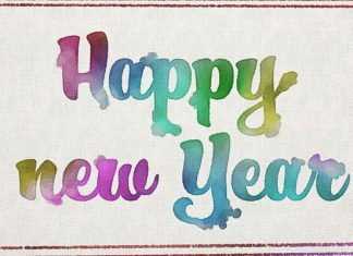 Happy new year and have a good start in 2018