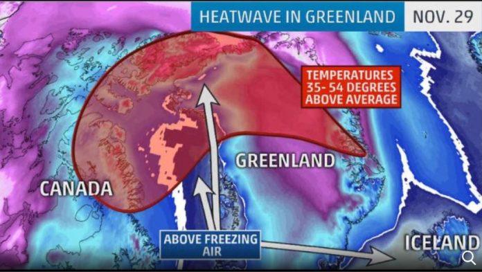 heatwave greenland, freak heatwave greenland, Freak heatwave engulfs Greenland